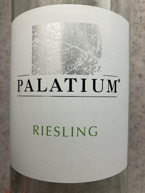 Palatium Riesling halbtrocken(パラツィウム リースリング ハルプトロッケン)