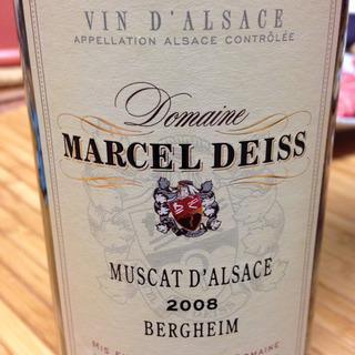 Marcel Deiss Muscat d'Alsace Bergheim