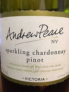 Andrew Peace Sparkling Chardonnay Pinot