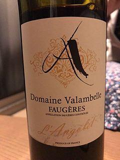 Dom. Valambelle Faugères L'Angolet