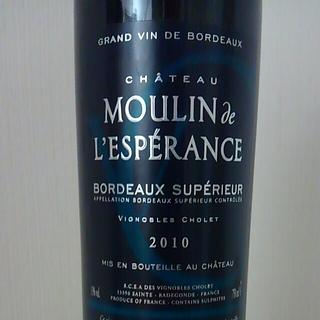 Ch. Moulin de l'Espérance Bordeaux Supérieur