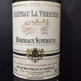Ch. La Verrière Bordeaux Supérieur