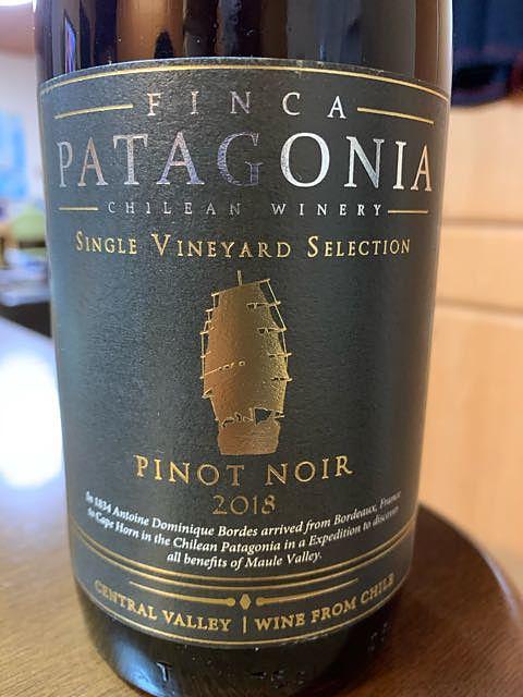 Finca Patagonia Single Vineyard Selection Pinot Noir(フィンカ・パタゴニア シングル・ヴィンヤード・セレクション ピノ・ノワール)