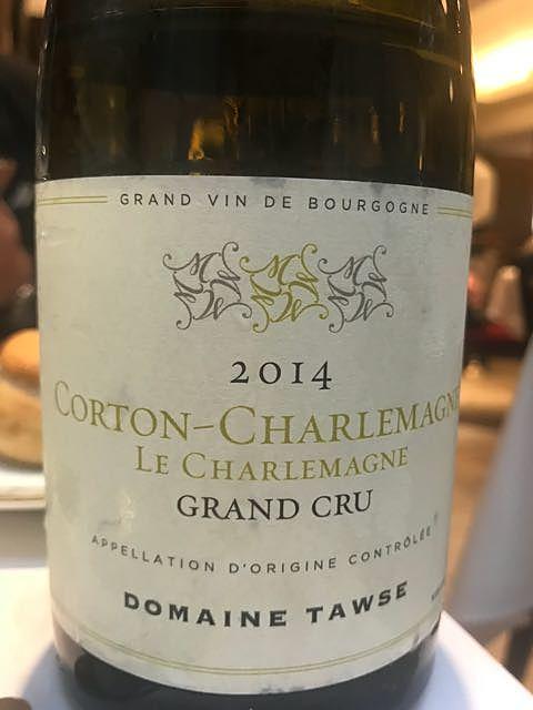 Dom. Tawse Corton Charlemagne Grand Cru(ドメーヌ・トーズ コルトン・シャルルマーニュ グラン・クリュ)