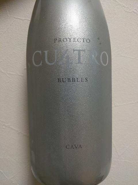 Proyecto Cu4tro Bubbles Brut