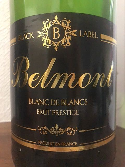 Belmont Blanc de Blancs Brut Prestige(ベルモン ブラン・ド・ブラン ブリュット・プレステージ)
