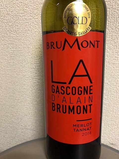 Dom. Alain Brumont Gascogne Rouge Tannat Merlot(ドメーヌ・アラン・ブリュモン ガスコーニュ ルージュ タナ メルロ)