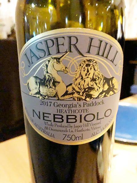 Jasper Hill Georgia's Paddock Nebbiolo