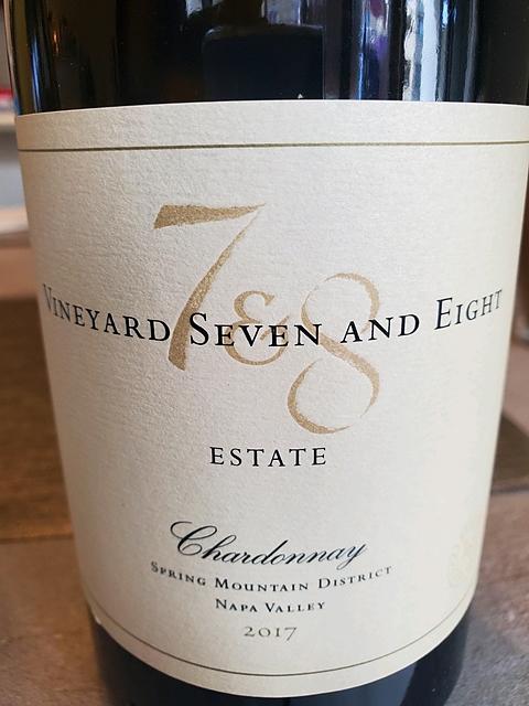 Vineyard 7 & 8 Vineyard 8 Estate Chardonnay Spring Mountain District(ヴィンヤード・セヴン・アンド・エイト ヴィンヤード・エイト エステート シャルドネ スプリング・マウンテン・ディストリクト)