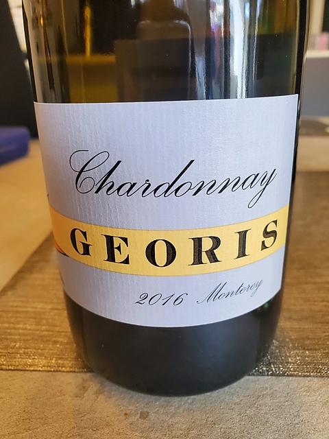 Georis Chardonnay Carmel Valley(ジオリス シャルドネ カーメル・ヴァレー)
