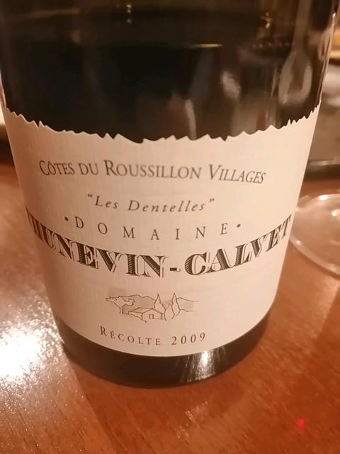 Dom. Thunevin Calvet Côtes du Roussillon Villages Les Dentelles