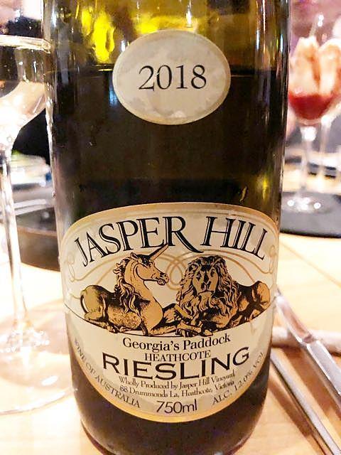 Jasper Hill Georgia's Paddock Riesling