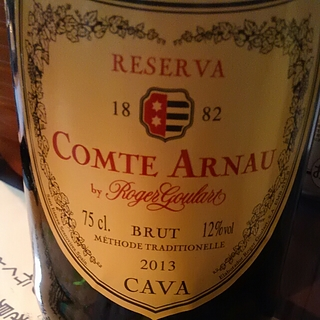 Comte Arnau by Roger Goulart Cava Brut Reserva