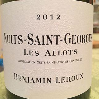 Benjamin Leroux Nuits Saint Georges Les Allots