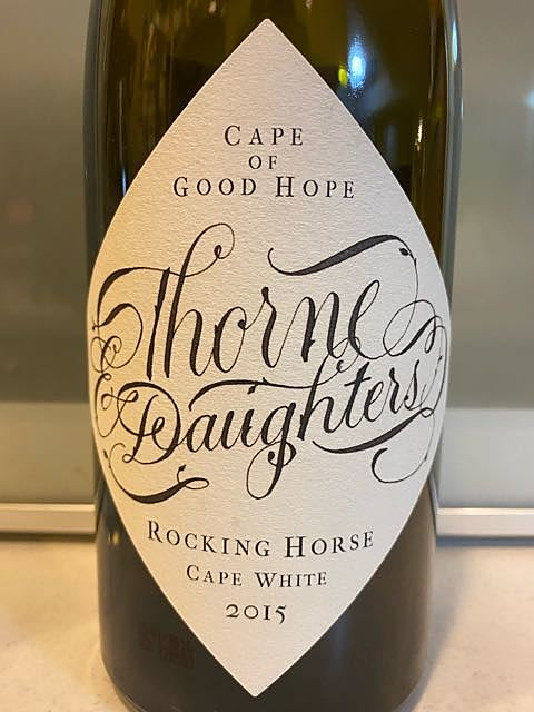 Thorne & Daughters Rocking Horse Cape White 2015