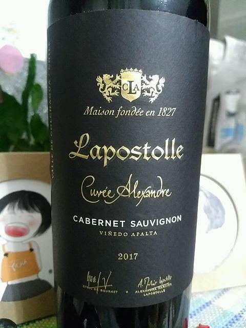 Lapostolle Cuvée Alexandre Cabernet Sauvignon(ラポストール キュヴェ・アレクサンドル カベルネ・ソーヴィニヨン)