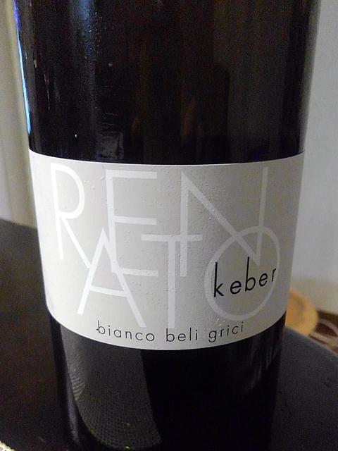 Renato Keber Bianco Beli Grici(レナート・ケーベル ビアンコ・ベリ・グリチ)