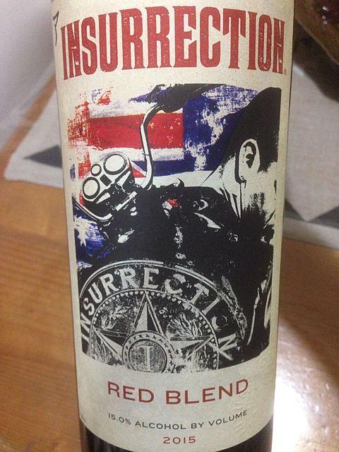 Insurrection Red Blend(インサレクション レッド・ブレンド)