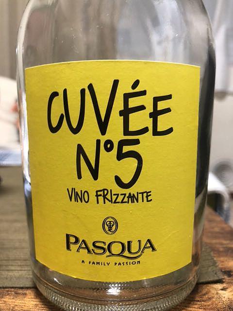 Pasqua Cuvée N°5 Vino Frizzante(パスクア キュヴェ・ヌメロ・チンクエ)