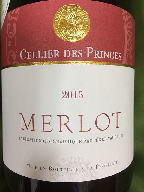 Cellier des Princes Merlot