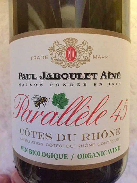 Paul Jaboulet Ainé Parallele 45 Rouge