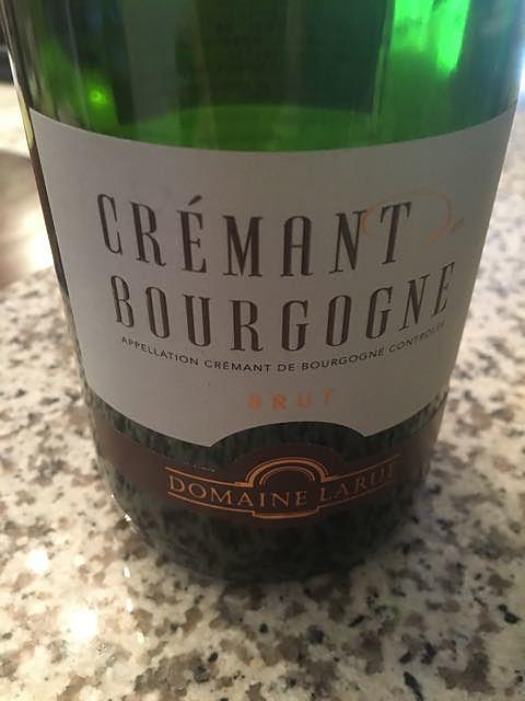 Dom. Larue Crémant de Bourgogne Brut(ドメーヌ・ラリュー クレマン・ド・ブルゴーニュ ブリュット)