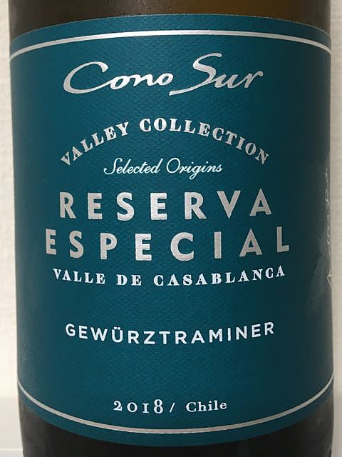 Cono Sur Reserva Especial Valley Collection Gewürztraminer