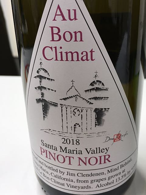 Au Bon Climat Santa Maria Valley Pinot Noir(オー・ボン・クリマ サンタ・マリア・ヴァレー ピノ・ノワール)