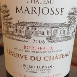 Ch. Marjosse Reserve du Ch. Rouge
