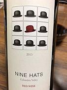 ナイン・ハッツ レッド・ワイン(2015)