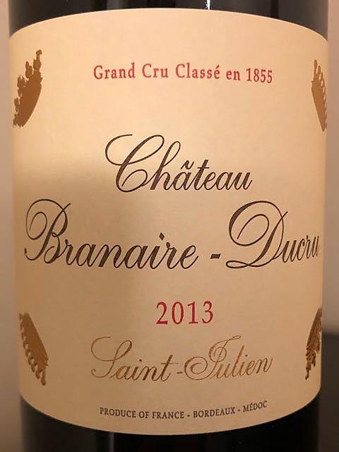 Ch. Branaire Ducru(シャトー・ブラネール・デュクリュ)