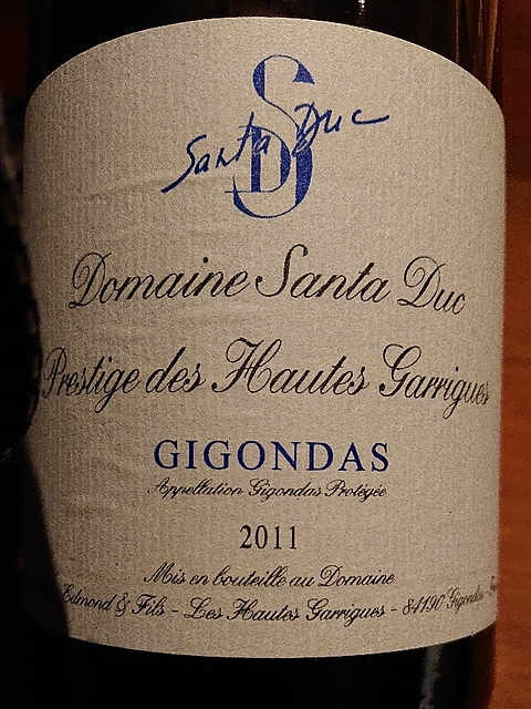 Dom. Santa Duc Gigondas Prestige des Hautes Garrigues