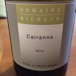 Dom. Richaud Cairanne Blanc