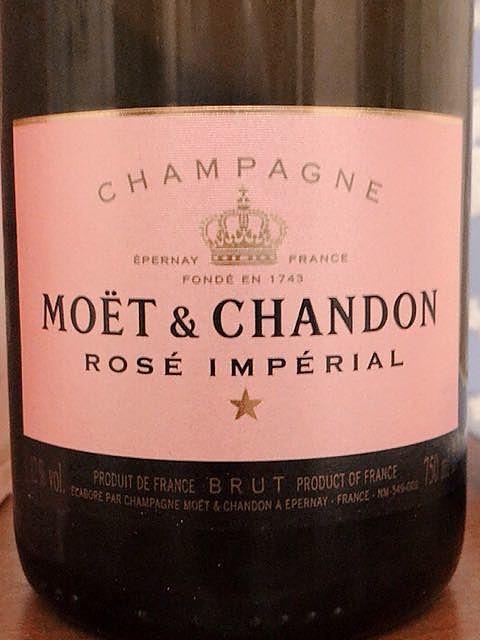 Moët et Chandon Rosé Impérial(モエ・エ・シャンドン ロゼ インペリアル)