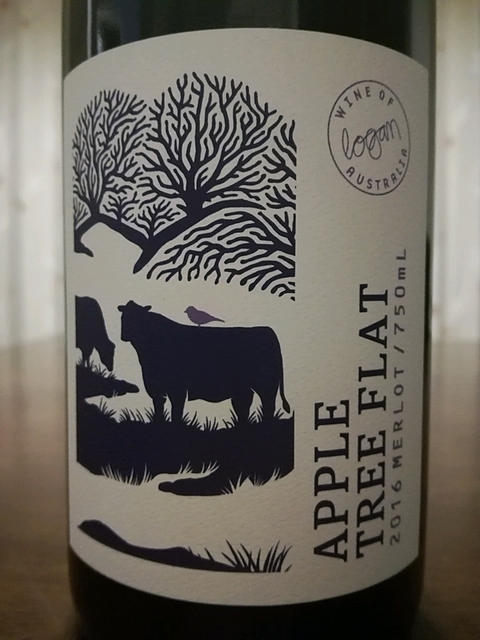 Logan Apple Tree Flat Merlot