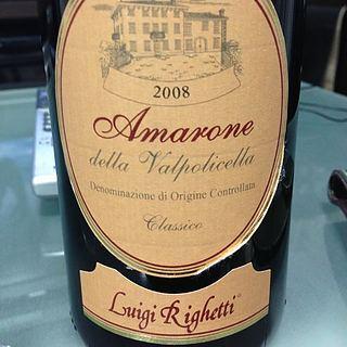 Luigi Righetti Amarone della Valpolicella Classico(ルイジ・リゲッティ アマローネ・デッラ・ヴァルポリチェッラ クラッシコ)