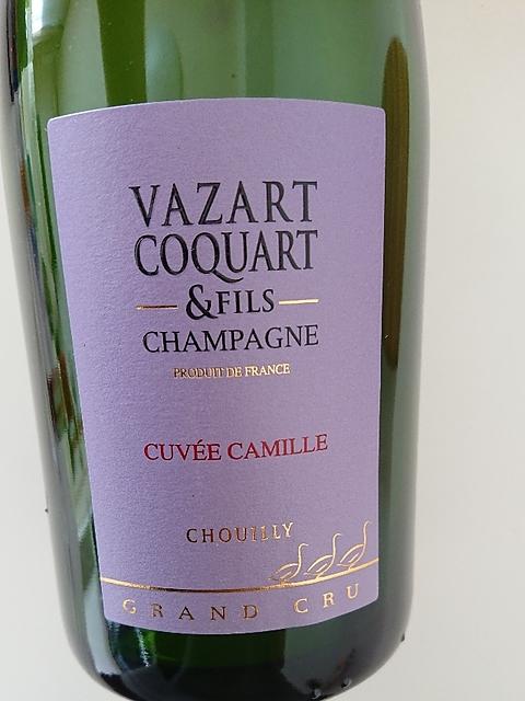 Vazart Coquart & Fils Cuvée Camille(ヴァザール・コカール・エ・フィス キュヴェ・カミーユ)