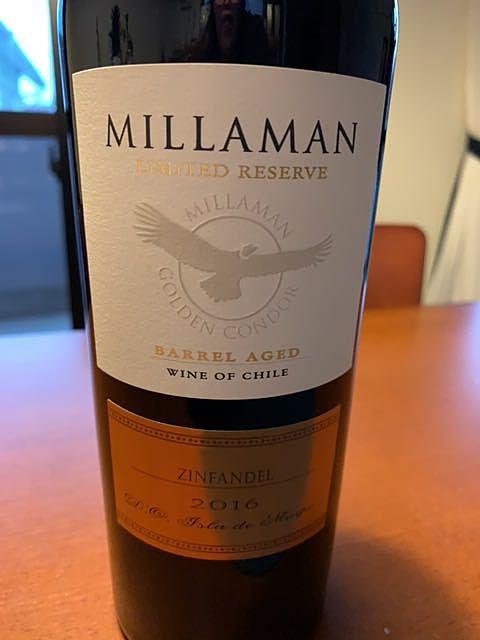 Millaman Limited Reserve Barrel Aged Cabernet Sauvignon Malbec