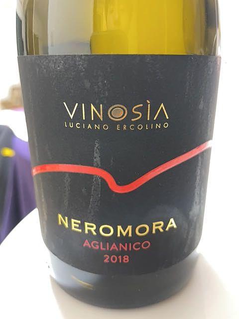 Vinosia Neromora Irpinia Aglianico(ヴィノジア ネロモーラ イルピニア アリアーニコ)