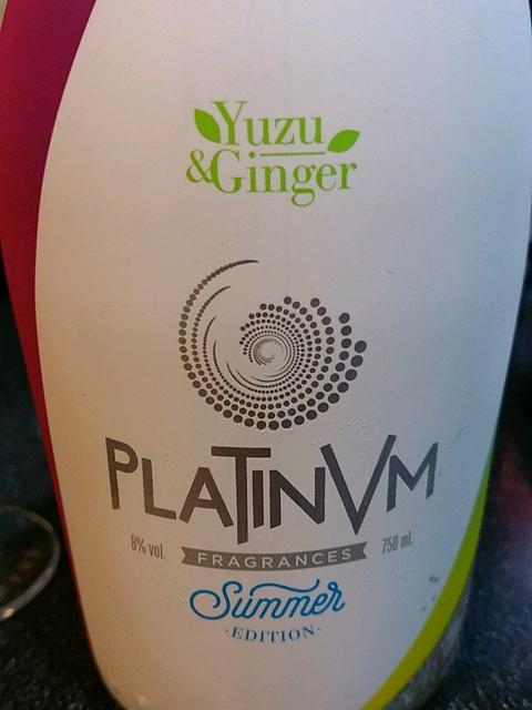 Platinvm Fragrances Summer Edition Yuzu & Ginger