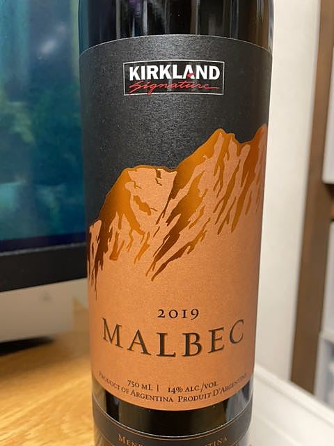 Kirkland Signature Mendoza Malbec(カークランド・シグネチャー メンドーサ マルベック)