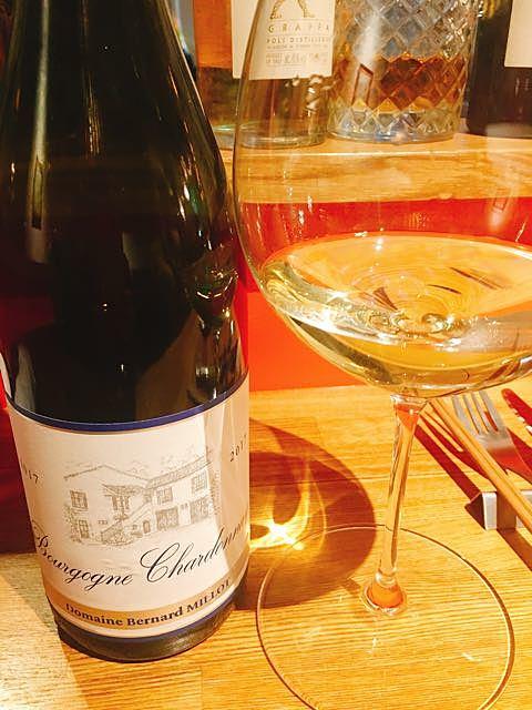 Dom. Bernard Millot Bourgogne Chardonnay(ドメーヌ・ベルナール・ミオ ブルゴーニュ シャルドネ)