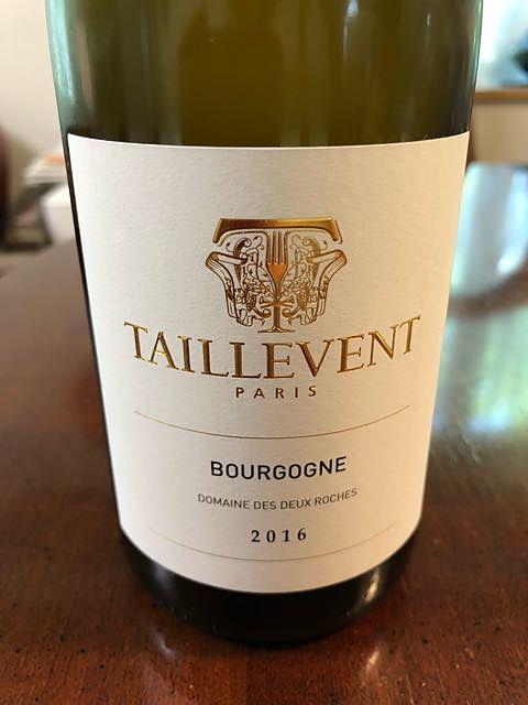 Dom. des Deux Roches Bourgogne Chardonnay(ドメーヌ・デ・ドゥー・ロシェ ブルゴーニュ シャルドネ)