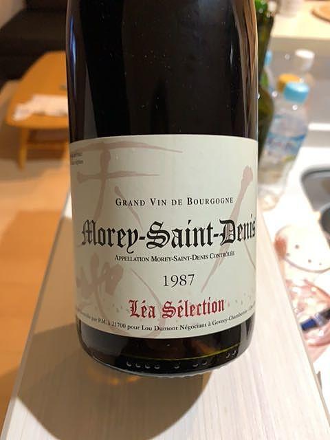 Lou Dumont Léa Sélection Morey Saint Denis(ルー・デュモン レア・セレクション モレ・サン・ドゥニ)