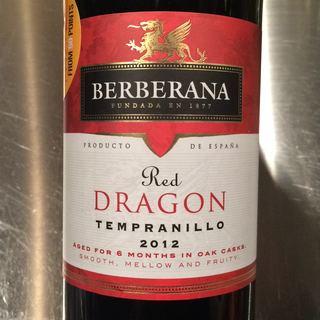 Berberana Red Dragon Tempranillo(ベルベラーナ レッド・ドラゴン テンプラニーリョ)