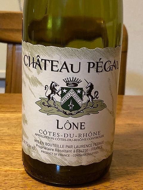 Ch. Pégau Côtes du Rhône Cuvée Lône(シャトー・ペゴー コート・デュ・ローヌ キュヴェ・ローン)