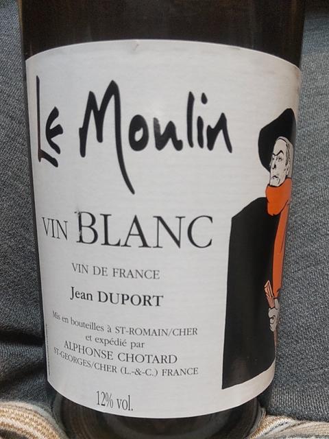 Le Moulin Vin Blanc Jean Duport