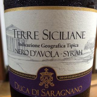 Duca di Saragnano Terre Siciliane Nero d'Avola Syrah