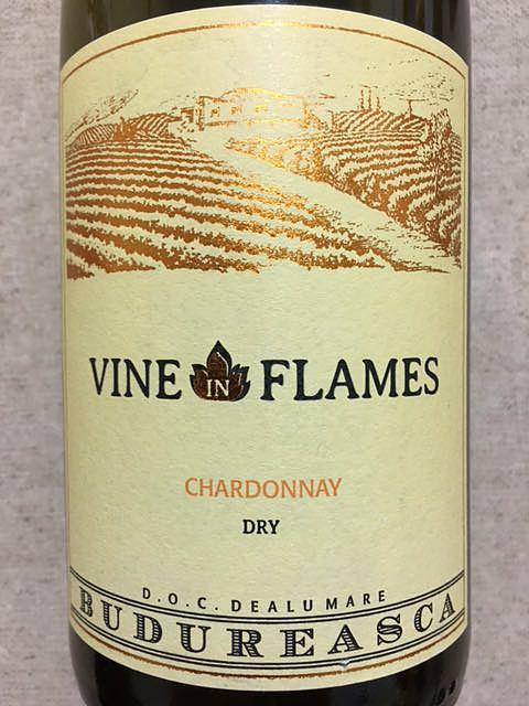 Budureasca Vine in Flames Chardonnay(ブドゥレアスカ ヴァイン・イン・フレーム シャルドネ)