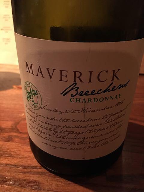 Maverick Breechens Chardonnay(マーヴェリック ブリーチェンズ シャルドネ)